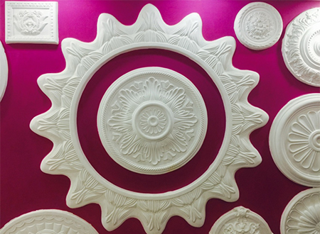 how to choose ceiling rose sizes